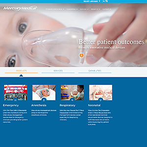 New Mercury Medical Website Now LIVE